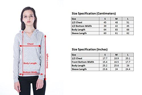 100% Kaschmir V-Ausschnitt Kordelzug Hoodie Pullover für Frauen - von CASHMERE 4 U (Small, Azure(Azurblau)) - 8