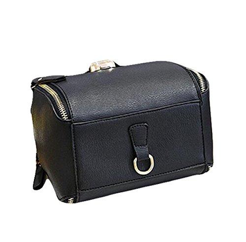 Multifunktionale Art Und Weise Wilde Kettenrucksackbeutel Einfache Und Bequeme Handtasche Black