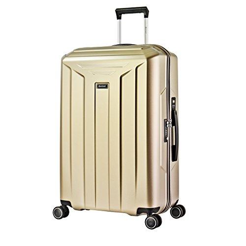 Eminent Guard, Unisex-Erwachsene Koffer Gold champagnerfarben L (76cm - 105L)
