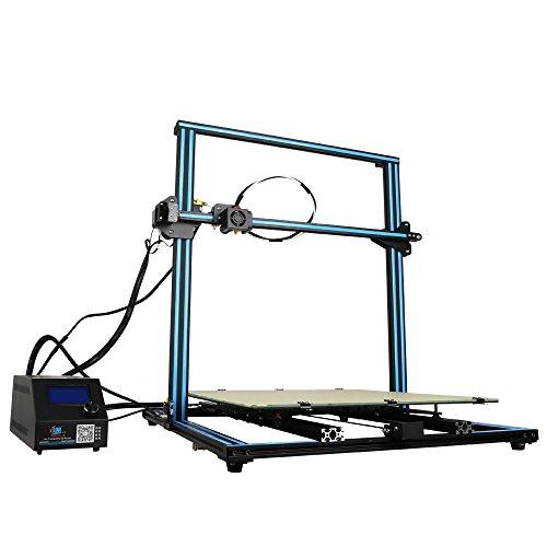 Uniqstore impresora 3d CR-10S5filamento surveiller con doble Z Mener tornillo Reprendre para Quand corriente 500x 500x 500mm (azul)