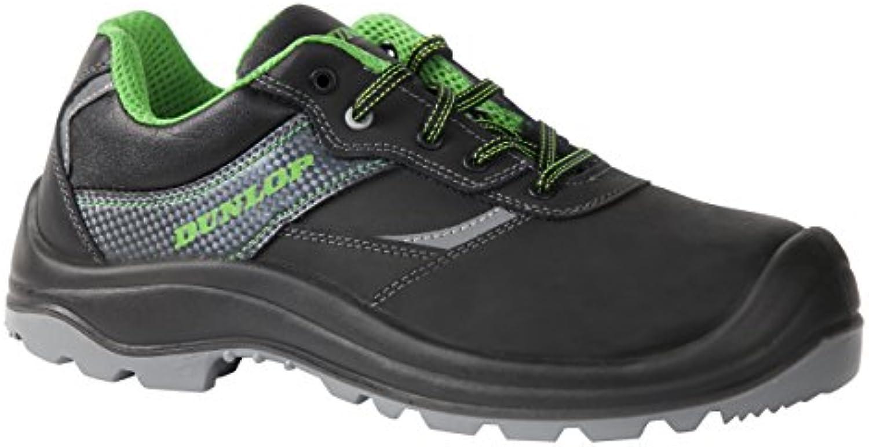 Dunlop Armag Low - Calzado de protección laboral (talla 43) color negro