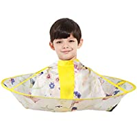 AIYANG Hair Cutting Cloak Umbrella Cape Salon Barber Hairdressing Gown Family For Babies Kids Children (Butterflies and Flowers)
