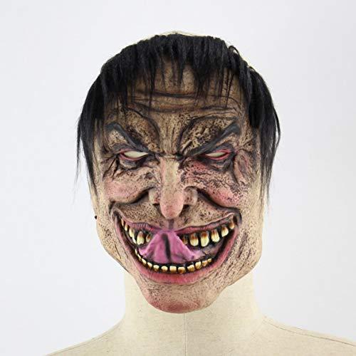 Halloween drôle malheureux masque de Noël masque d'horreur de latex masque de capot