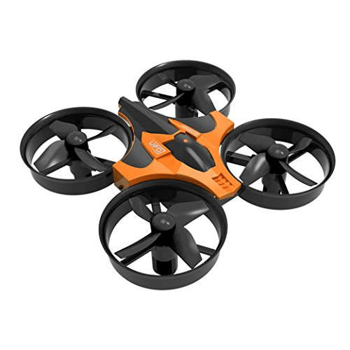 Bluester Mini 6 Axis 2.4G 4CH Gyro Headless Altitude Maintain LED Distant Management RC Quadcopter (Orange)