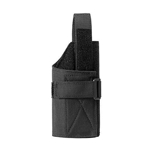 Für Laser M&p 9mm (1T Kompakt Pistolenholster molle Gürtelholster für Glock 26 27 28 29 30 33 36 39 43 (Schwarz))