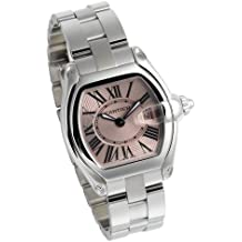 Cartier Roadster doble pulsera damas reloj W62017V3