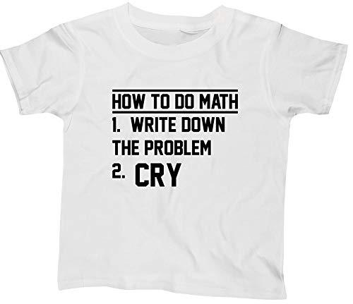 Hippowarehouse How to Do Mathkids Children's Short Sleeve t-Shirt