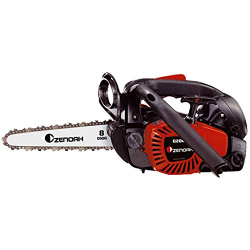 Zenoah - G 2050 T - Tronçonneuse d'élagage à essence - 18,3 CC - 2,4 kg - Guide 20 cm - Version Carving - Ultra-légère