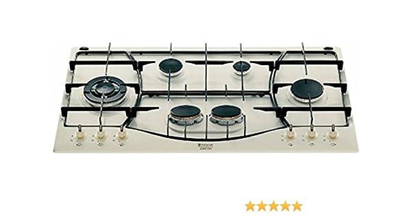 ARISTON PH 960 MST (OW) R/HA Piano cottura a gas (90 cm): Amazon.it ...