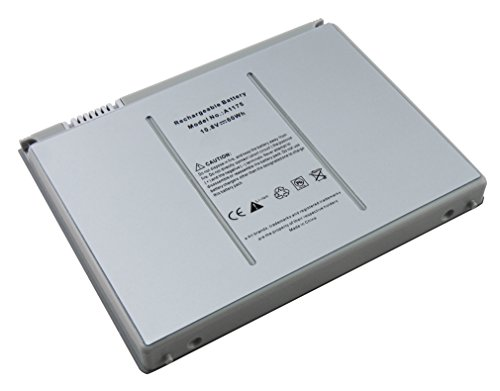 5600mAh batterie de remplacement ordinateur portable compatible avec Apple MacBook Pro 15\