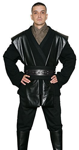 Jedi-Robe Star Wars Anakin Skywalker Sith Kostüm - Tunika Satz - Replik Star Wars Kostüm