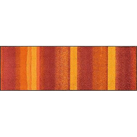 wash + dry 067733 Medley - Felpudo, acrílico, naranja, 60 x 180 cm