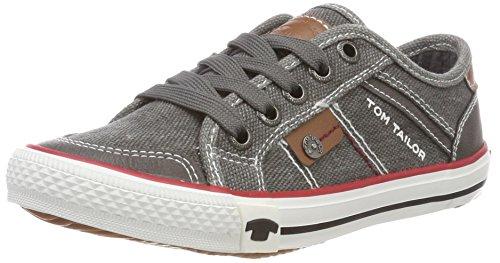 TOM TAILOR Jungen 4870001 Sneaker Grau (Coal) 40 EU
