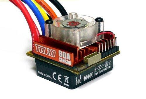 Preisvergleich Produktbild SKYRC TORO S60 RC Sensored Brushless Motor 60A ESC Speed Controller SL890 mit RCECHO Vollversion Apps Ausgabe