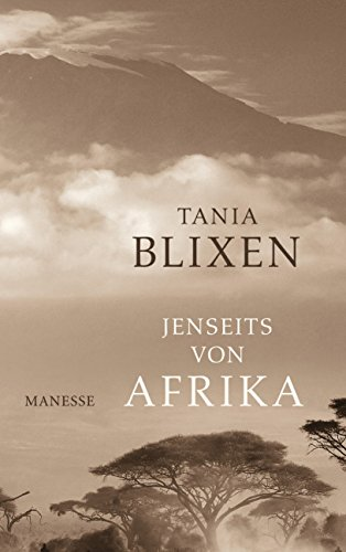 Buchseite und Rezensionen zu 'Jenseits von Afrika' von Tania Blixen