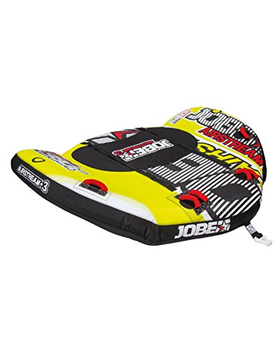 Jobe Towables Airstream 3P, Yellow/Red, One Size, 230315002PCS