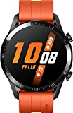 HUAWEI Watch GT 2 Smartwatch (46mm, OLED Touch-Display, Fitness Uhr mit Herzfrequenz-Messung, Musik Wiedergabe & Bluetooth Telefonie, 5ATM wasserdicht) sunset orange