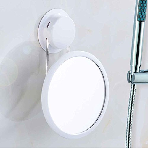 Miroirs Ventouse Salle de Bains Petit Salle De Bains Mur sans Punch Murale Détachable, Angle Libre, HD