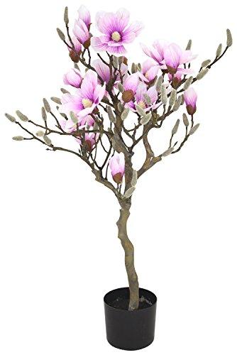 Kunst-Pflanze Magnolie im Topf 95cm