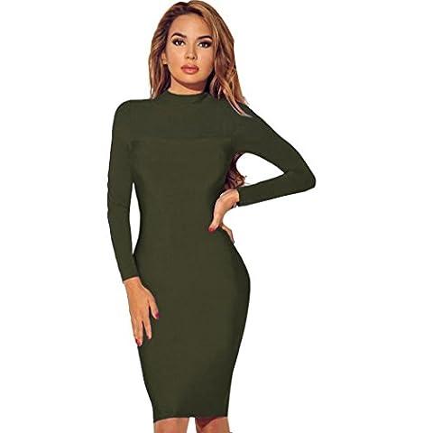 Xinantime - Pull - Femme vert vert militaire L