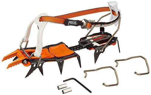 Petzl Lynx Eisklettern und für Mixed-Routen Artikel Wurde aus Stahl Gefertigt. Die Steigeisen Sind Tauglich für Bedingt Steigeisenfeste Schuhe. , Orange, One Size
