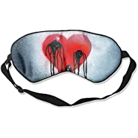 Sleep Eye Mask Bleeding Heart Lightweight Soft Blindfold Adjustable Head Strap Eyeshade Travel Eyepatch E9 preisvergleich bei billige-tabletten.eu
