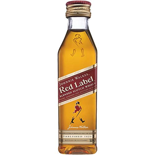 Johnnie Walker Red Label Miniatur 0,05 Liter -