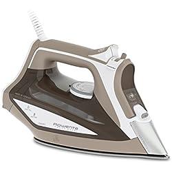 Rowenta DW5225 - Plancha de 2400 W, Golpe de Vapor 160 gr/min, Suela Microsteam Laser 400, función ECO