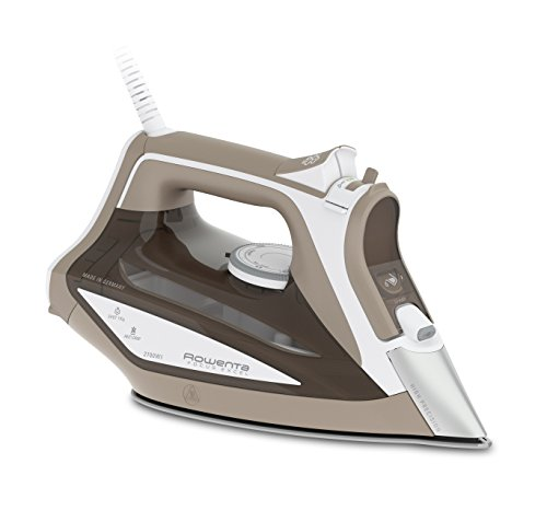 Rowenta DW5225 Focus Excel Ferro da Stiro a Vapore, Potenza 2700 W, Beige/Bianco
