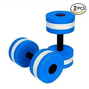 BigBoss Sports Aquatic Gymnastik-Hanteln für Aqua-Fitness, Hanteln – Set von 2 – für Wasser-Aerobic