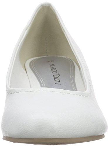Marco Tozzi - 22308, Scarpe col tacco Donna Bianco (bianco (White 100))