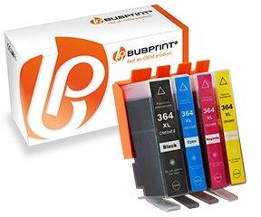 Preisvergleich Produktbild 4 Bubprint Druckerpatronen kompatibel zu HP 364XL 364 XL HP Photosmart 5520 5510 6520 7520 DeskJet 3520 3070A OfficeJet 4620