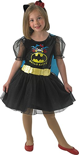 Hello Kitty Kostüm Batgirl S keine ()