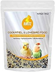 Boltz Food for Cockatiel & Lovebird (1.2 KG) (1.2
