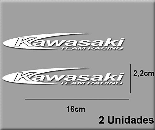 Ecoshirt F9-6QUR-XYGB Pegatinas Stickers Moto Kawa Team R R14 Aufkleber Decals Autocollants...
