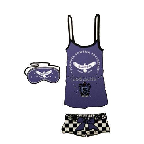 Licensed-Primark - Pijama - para Mujer Azul Blue-Ravenclaw M