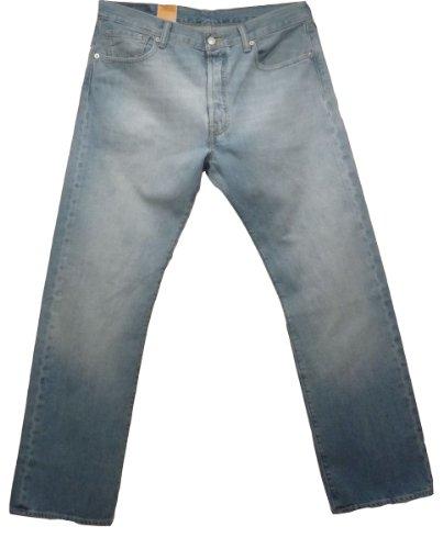 Levi's Herren Jeans 501 Original Fit Blau (Light Blue 540)