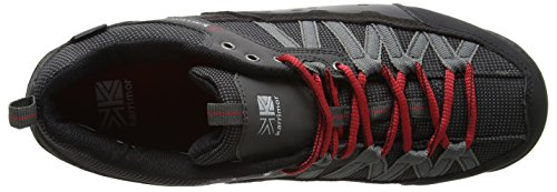 Karrimor Mens Low Spike 2 Weathertite Hiking Walking Shoes Schwarz (Black Red) hNSveWFA
