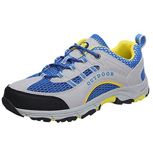 KERULA Sneakers, Leisure Men's on Foot Flat Running Casual Shoe Wear Resistant Breathable Sneakers Athletic Fashion Day Ultra Lightweight Perforated Slip Offroad Sport Sneaker füR Damen & Herren
