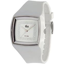 Fizz 5010242 Unisex White Plastic Strap Watch