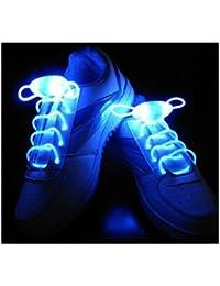 2 Cordones Luminosos para Zapatillas Luminosas Deportivas Cordon Luz de Led 2216