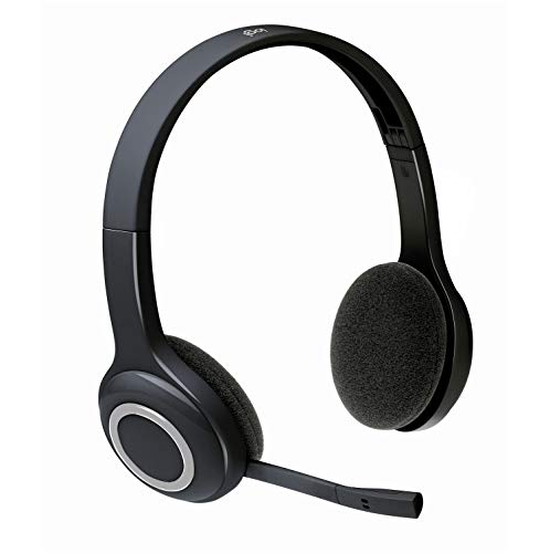 Foto Logitech H600 Cuffia Wireless per PC, con Microfono Ripiegabile, Nero