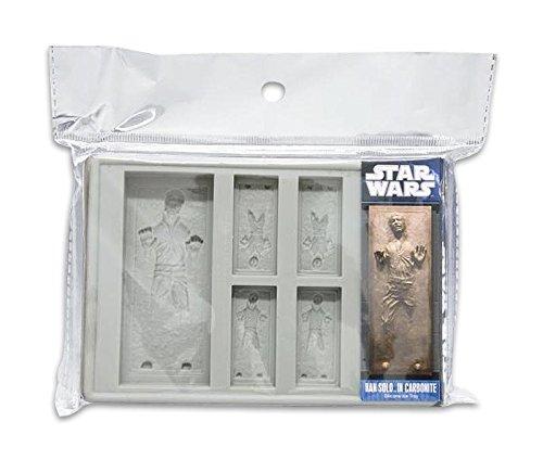 Star Wars Han-Solo Eiswürfel Form und Backform Gra