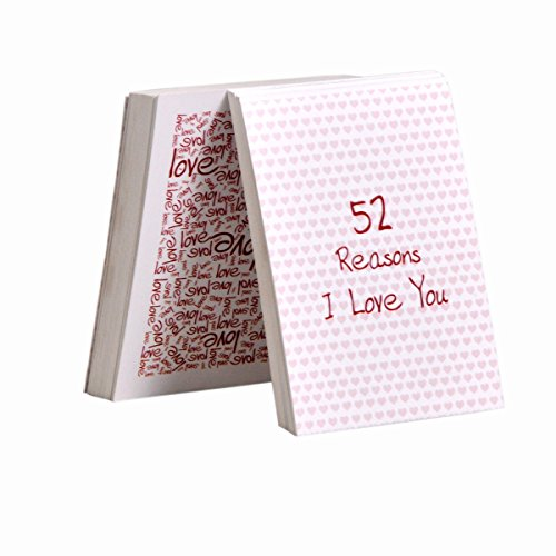 Khatte Meethe Desires 52 Reasons I Love You Deck of Cards (White)