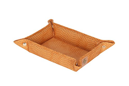 Stephanie Johnson Women's Havana Snap Tray, Orange