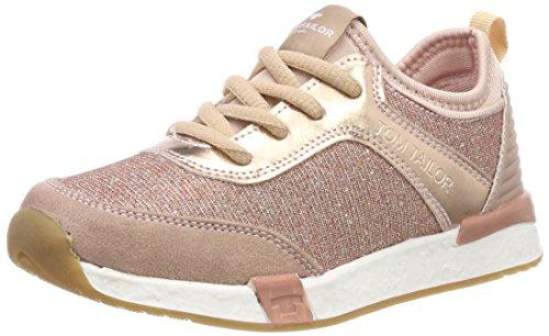 TOM TAILOR Mädchen 4870501 Sneaker, Pink (Rose), 35 EU
