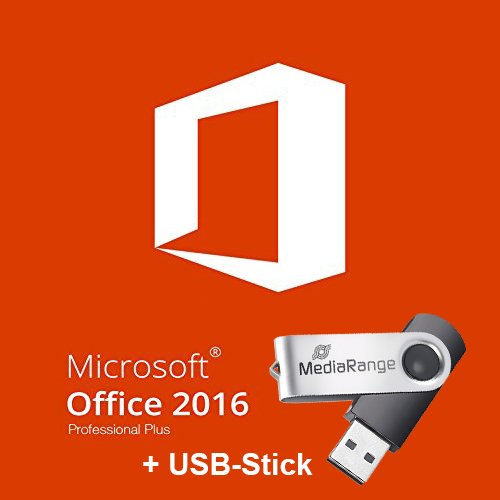 Produktbild Microsoft Office Professional Plus 2016 32/64 bit inkl. USB-Stick und Software.Art51 Kundensupport