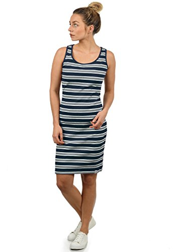 Desires Rahile Women's Sheath Dress Box Dress with Crew Neck Made of 100% Cotton
