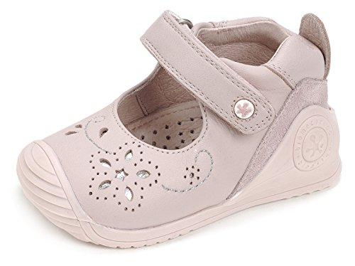 Biomecanics Baby Jungen 172130 Lauflernschuhe, Weiß Rosa (Pink)