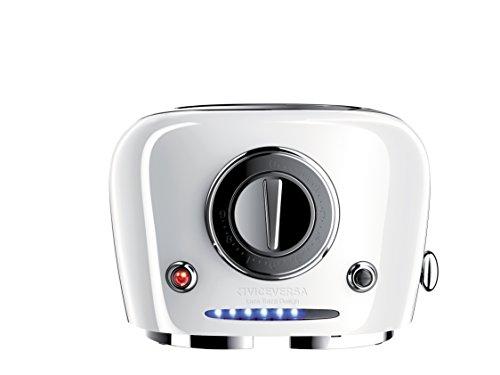 Viceversa 2135037Tix Pop Up Toaster weiß